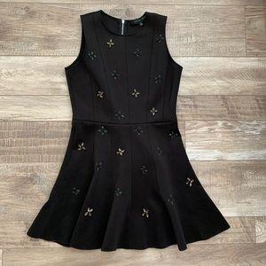 Little black dress with embellished detail